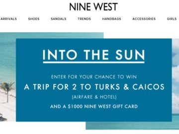 Nine West Into The Sun Sweepstakes