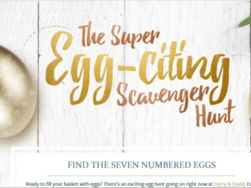 The Super Egg-citing Scavenger Hunt Sweepstakes