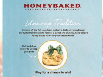 The HoneyBaked Ham Unwrap Tradition Sweepstakes