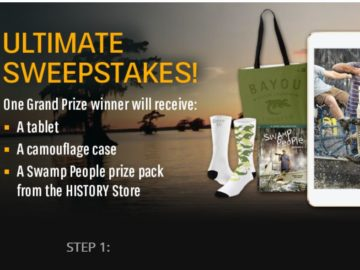 History's Swamp People Ultimate Sweepstakes