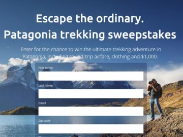 Ultimate Patagonia Giveaway Sweepstakes
