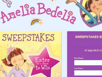 The Amelia Bedelia Family Fun Sweepstakes