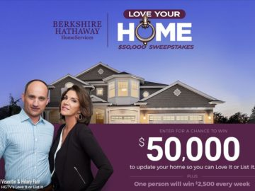 Berkshire Hathway Home Services Love Your Home Sweepstakes