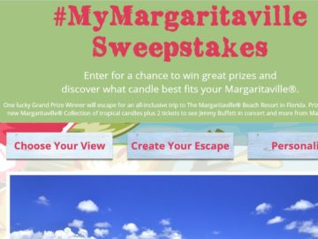 "The Yankee Candle ""#MyMargaritaville"" Sweepstakes"