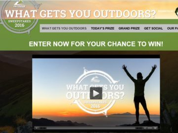 "Outdoor Channel's ""What Gets You Outdoors"" Sweepstakes"
