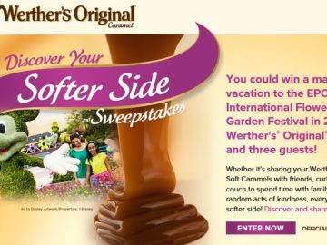 Werther's Original Discover Your Softer Side Sweepstakes