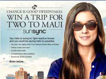 VSP Vision Care Change is Good sunsync Sweepstakes