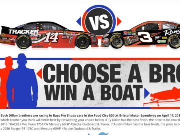 "Bass Pro Shops ""Brother vs. Brother"" Sweepstakes"