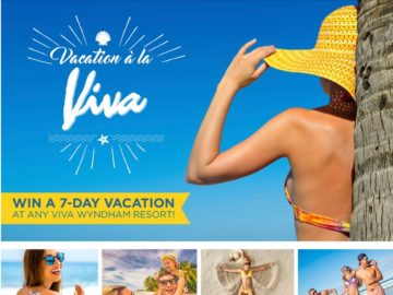 """The Wyndham """"Vacation a' La Viva"""" Sweepstakes"""