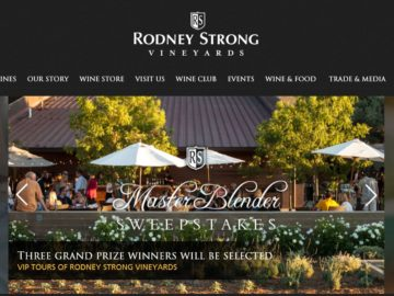 """The Rodney Strong Vineyards """"Master Blender"""" Sweepstakes"""