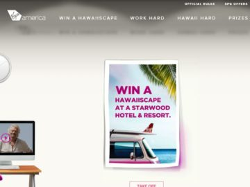 The Virgin America Make Your Hawaiiscape Sweepstakes