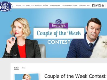 Cat's Pride Couple of the Week Contest
