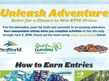 SeaWorld & Bad Boy Mowers Unleash Adventure Sweepstakes