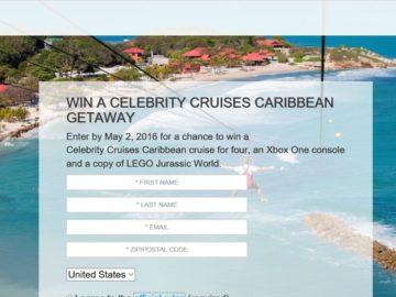 The Celebrity Cruises Xbox Caribbean Getaway Sweepstakes