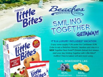 """The Little Bites """"Smiling Together"""" Sweepstakes"""