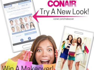 The Conair Love My New Look Sweepstakes
