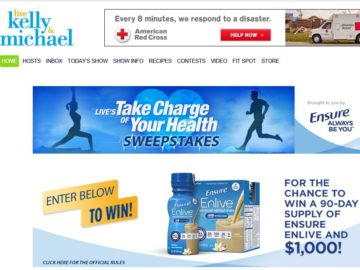 LIVE's Take Charge of Your Health Sweepstakes