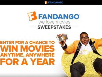 """Fandango's """"We Love Movies"""" Sweepstakes"""