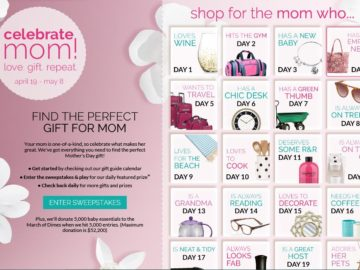Bon Ton Celebrate Mom: Love, Gift, Repeat Sweepstakes