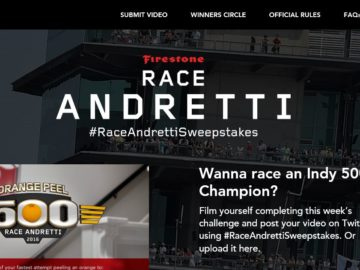 The Race Andretti Sweepstakes