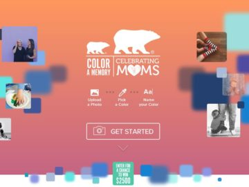 The Color A Memory Sweepstakes: Celebrating Moms