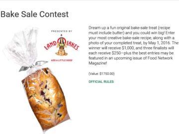 Network magazine bake sale contest food network magazine bake sale contest forumfinder Image collections