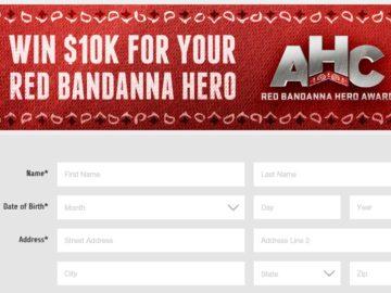 The Red Bandanna Hero Award Contest