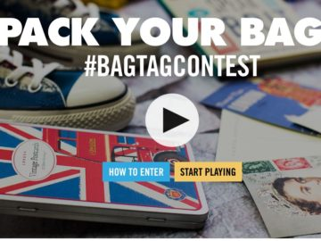 Contiki Pack Your Bag Bag Tag Contest