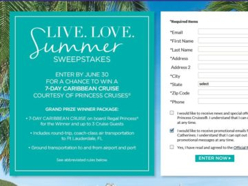 """The Catherines """"Live. Love. Summer."""" Sweepstakes"""