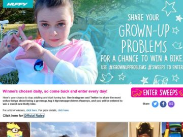 The Huffy #grownupproblems Sweepstakes