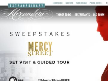 The Visit Alexandria Sweepstakes