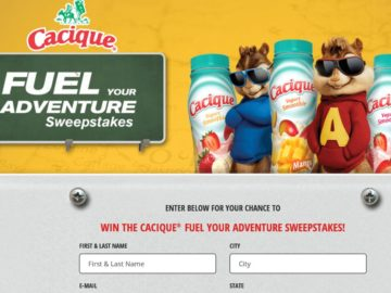 The Alvin And The Chipmunks: The Road Chip DVD Sweepstakes