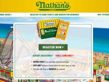Nathan's Famous Coney Island Sweepstakes
