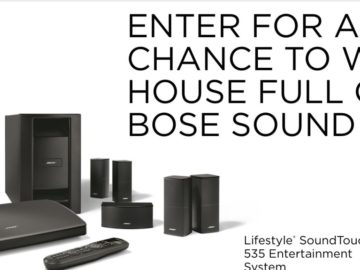 "The Bose ""House Of Sound"" Sweepstakes"