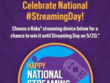 The Roku National #StreamingDay Sweepstakes