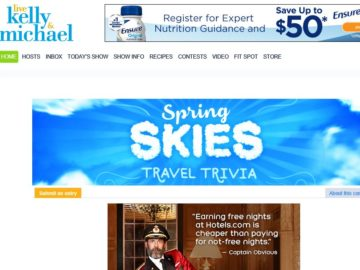 LIVE's Spring Skies Travel Trivia Sweepstakes