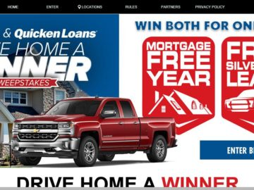 """The 2016 Hendrick's Automotive Group """"Drive Home a Winner"""" Sweepstakes"""