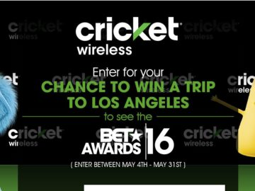 The Cricket/BET 2016 Sweepstakes
