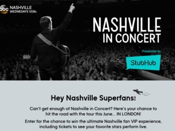 The Nashville In Concert Sweepstakes