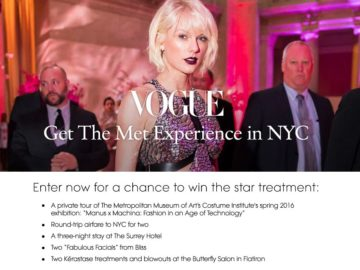 Vogue NYC Sweepstakes