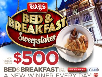 "The Bays English Muffins ""Bed and Breakfast"" Sweepstakes"