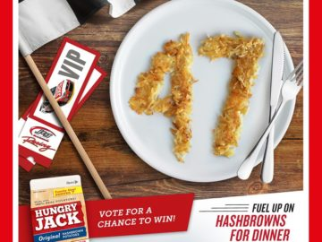 The Hungry Jack Potatoes Hashbrowns for Dinner Sweepstakes