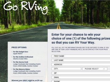 RV Your Way Sweepstakes