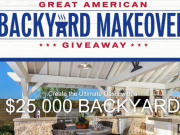 "Taylor Morrison/Darling Homes ""Great American Backyard Giveaway"" Sweepstakes"