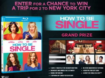 The Warner Bros How To Be Single Sweepstakes