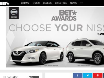 2016 Choose Your Nissan BET Awards Sweepstakes