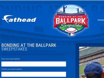 The Fathead's Bonding at the Ballpark Sweepstakes