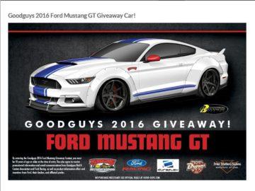 Goodguys 2016 Giveaway Contest
