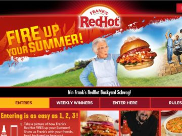 The Frank's RedHot Fire Up Your Summer Photo Contest