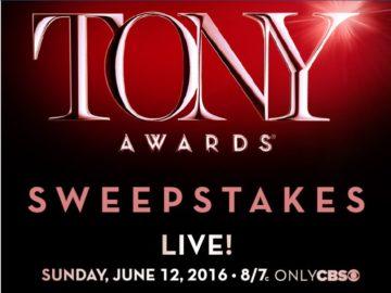 The 2016 Broadway Across America Tony Awards Sweepstakes